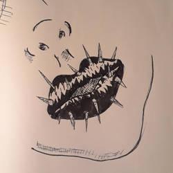 Inktober 2018: 25, Prickly by DABurgosART