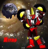 Nitro, looking good by DABurgosART