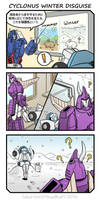 [TF] Cyclonus Winter Disguise [MTMTE] by SolarGirlMina