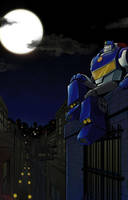 Rescue Bots -Chase- by SolarGirlMina