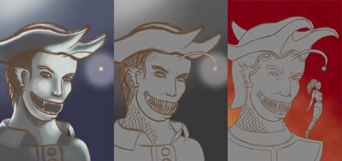 [Steps] Captain Death Lantern by Luneriane