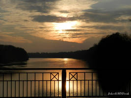 Golden Bridge to a Golden Dream by JokerIsMYFreak