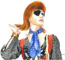 Bowie by JokerIsMYFreak