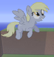 Derpy Hooves Minecraft by annary