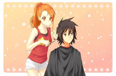 Haircut by MirakuruNaito
