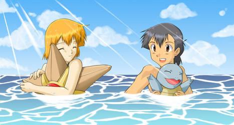 .:Casual Swim:. by MirakuruNaito