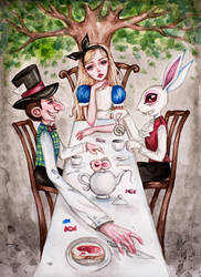 Mad Tea Party by BlackFurya