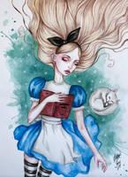 Sleeping Alice by BlackFurya