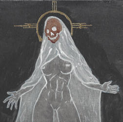 Santa Muerte by LadyRedfingers