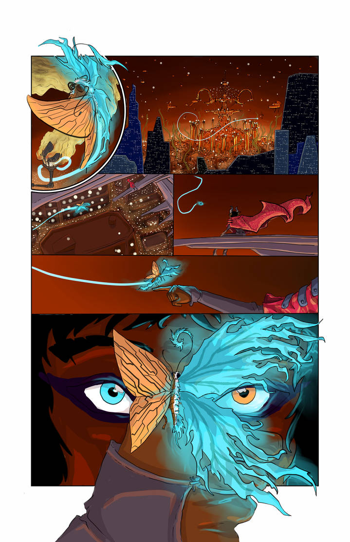 Radji and the Rat- Issue 1, Page 4 by LadyRedfingers