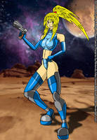 Zero Suit Samus by darkknightstrikes