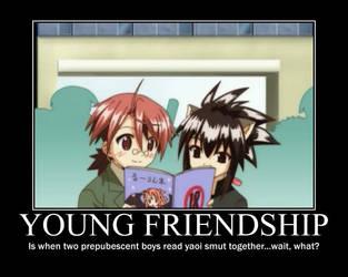 Negima Young Friendship by trebor469