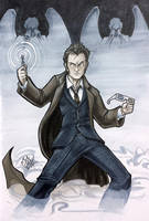 10th Doctor Heroes 2014 by ComfortLove