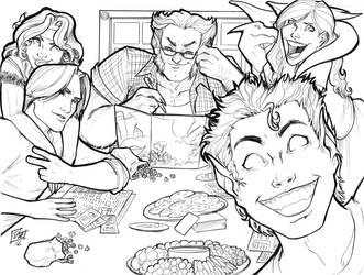 X-Men Gaming ACen 2016 by ComfortLove