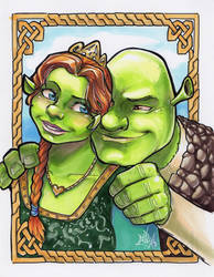 Shrek And Fiona ECCC 2018 by ComfortLove