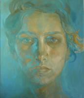 Gaby Blue by adriangi