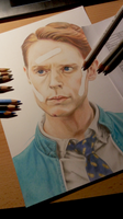Dirk Gently WIP 3 by klice-chan