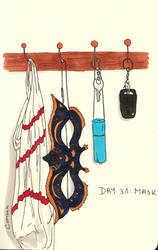 Day 31 - Mask by klice-chan