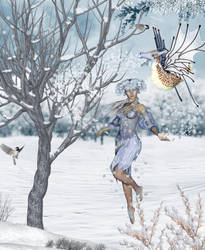 The snowbringers by EveBlackwood
