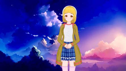Fumika Hoshizora (Redesign) by farhan43