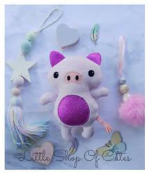 Baby Piggy by LittleShopOfCutes