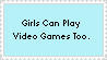 Video Games Stamp by I-luvv-anime