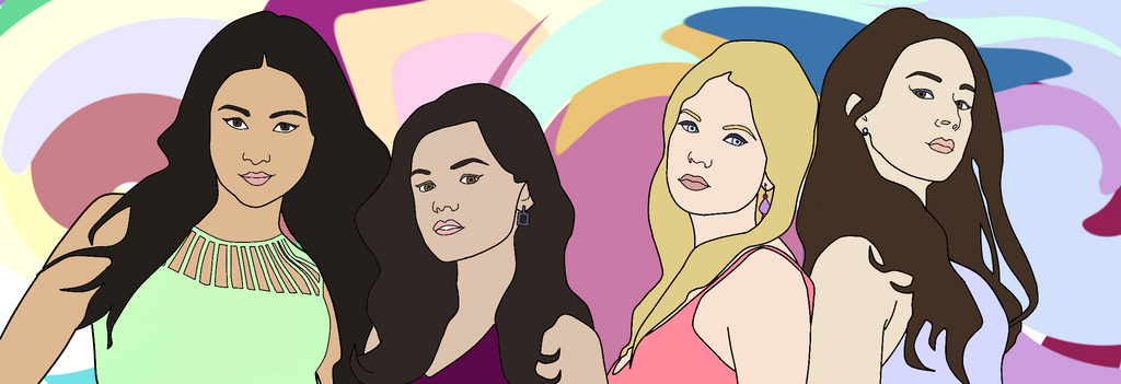 Pretty Little Liars by thedarklordbee