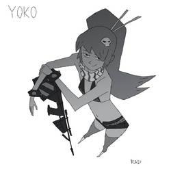 Yoko2 by radsechrist
