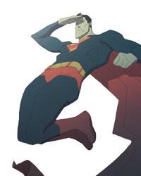 Superman by radsechrist