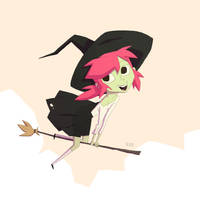 Little Witch by radsechrist