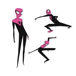 spiderman by radsechrist