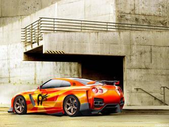 Nissan Skyline GTR by phareck