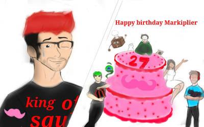 Happy birthday Markiplier  by skechartist