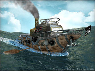 steamboat willy by ReginaldBull