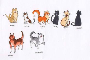 Gatos Y Perros en 'A Traves del Khamsin' by Skizocrilian