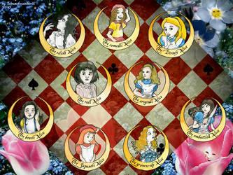 Alice through the Ages by Tabascofanatikerin