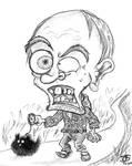 Weird angry ol' Neighbour by Tabascofanatikerin