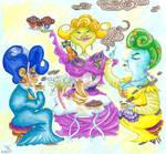 Lady's Tea Party by Tabascofanatikerin