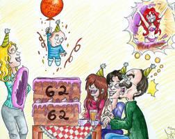 A special Birthday Surprise for Daddy by Tabascofanatikerin