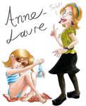 Art Trade: Anne-Laure by Gaucelm by Tabascofanatikerin