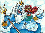 Disney MerMay Contest: Parrot of that World by Tabascofanatikerin