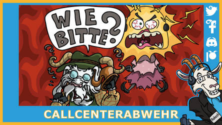 Telefonziege 'Callcentertussi wird wuetend' by Tabascofanatikerin