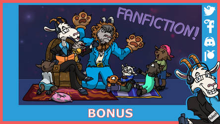 Telefonziege 'Fanfiction Time' by Tabascofanatikerin