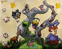 The Inner World 2 - Asposian Creatures by Tabascofanatikerin