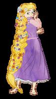 Rapunzel - Thank you! by Tabascofanatikerin
