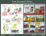 Draw it again - Comic Page Remake 'Fidulus' (1994) by Tabascofanatikerin