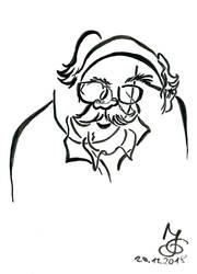 My Father (Blind Portrait) by Tabascofanatikerin