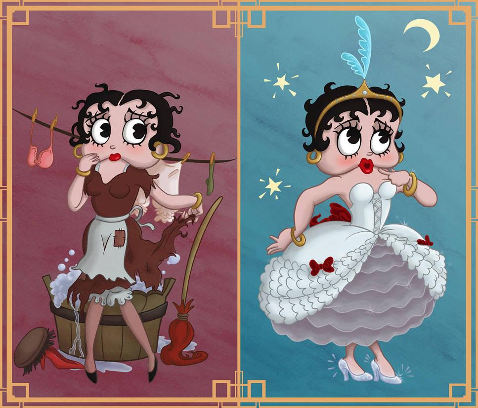 Betty Boop - Poor Cinderella by Tabascofanatikerin