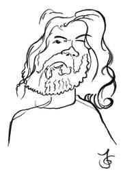 Dirk (Blind Portrait) by Tabascofanatikerin