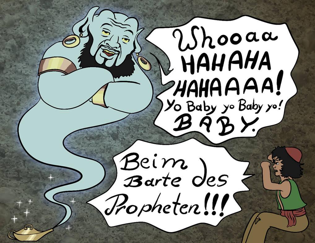 Face the Horror of the new Genie by Tabascofanatikerin
